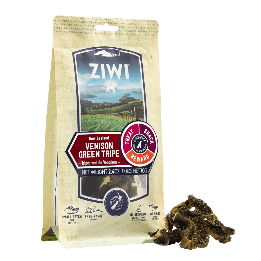 ZIWI PEAK Oral Health Air-Dried Lamb Green Triple Dog Chews, 70g